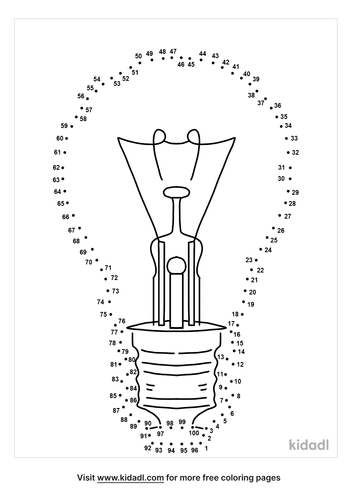 hard-light-bulb-dot-to-dot
