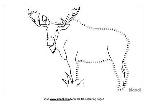 hard-moose-dot-to-dot