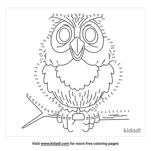 hard-owl-dot-to-dot