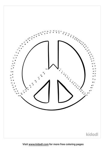hard-peace-sign-dot-to-dot