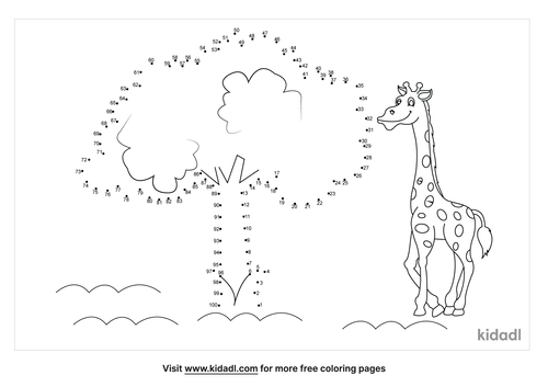 hard-plant-and-animals-dot-to-dot