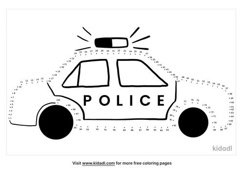 hard-police-car-dot-to-dot