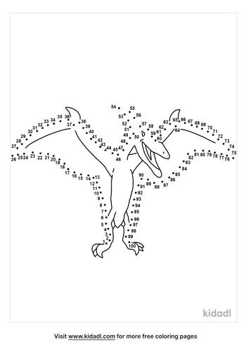 hard-pterodactyl-dot-to-dot