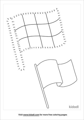 hard-racing-flag-dot-to-dot