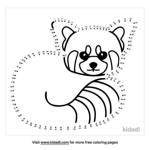 hard-red-panda-dot-to-dot