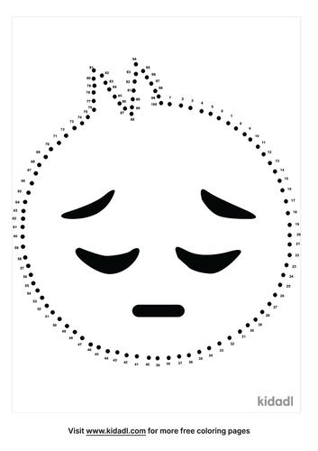hard-sad-face-dot-to-dot