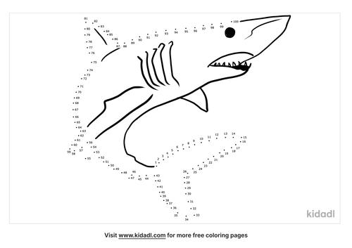 hard-shark-dot-to-dot