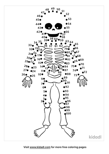 hard-skeleton-dot-to-dot