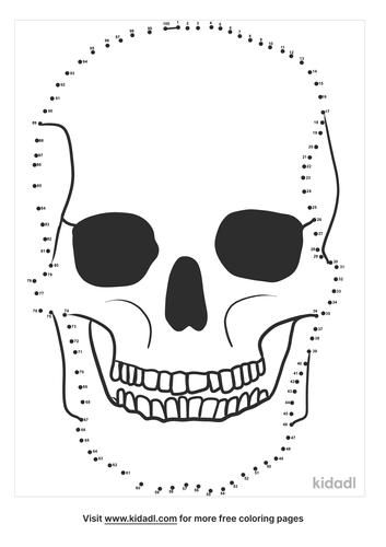 hard-skull-dot-to-dot