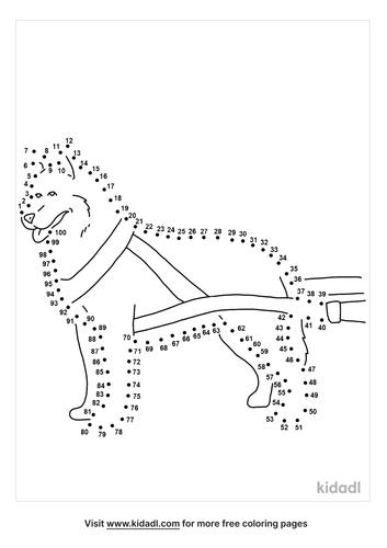 hard-sled-dog-dot-to-dot