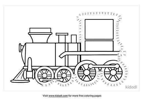 hard-steam-train-dot-to-dot