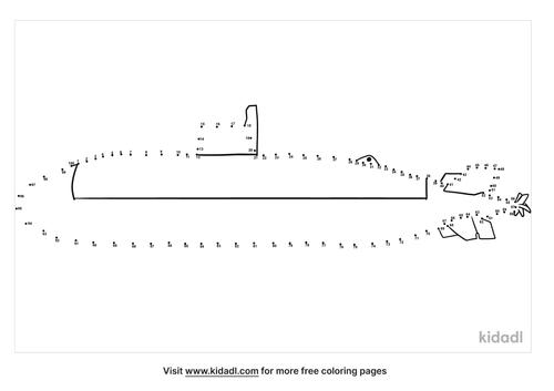 hard-submarine-dot-to-dot