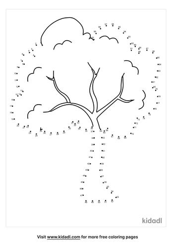 hard-tree-dot-to-dot