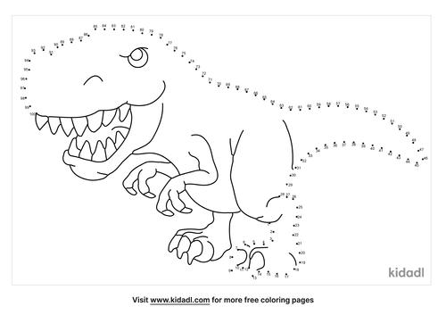 hard-tyrannosaurus-rex-dot-to-dot