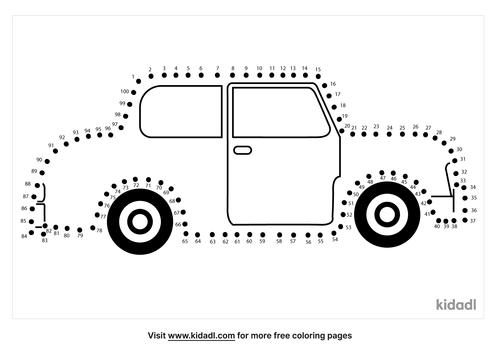 hard-vintage-car-dot-to-dot