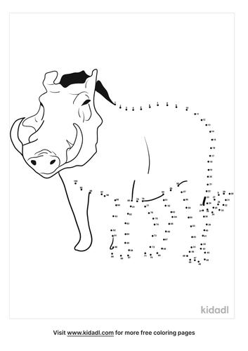 hard-warthog-dot-to-dot
