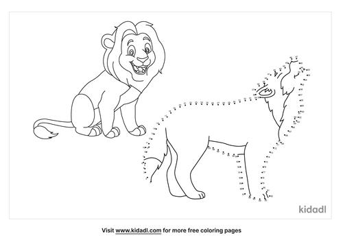 hard-wild-animals-dot-to-dot