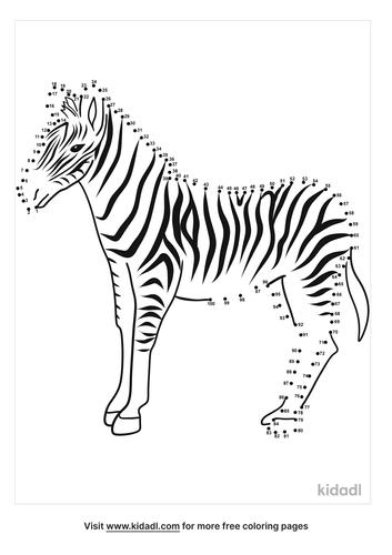 hard-zebra-dot-to-dot