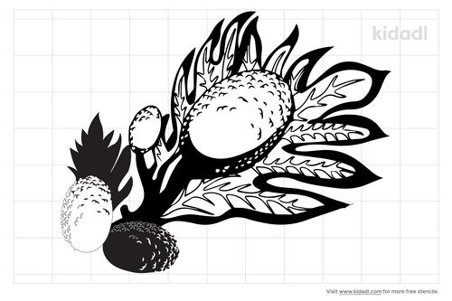 hawaiian-breadfruit-stencil