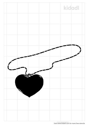 heart-locket-stencil