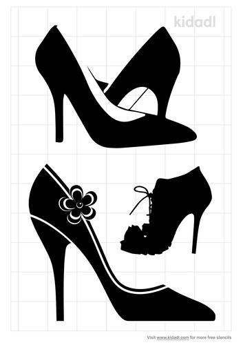 heels-stencil