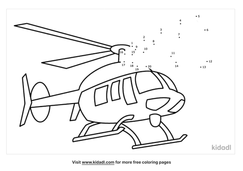 helicopter-dot-to-dot
