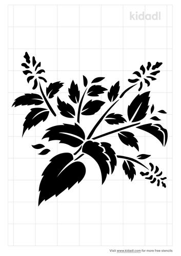herb-stencil