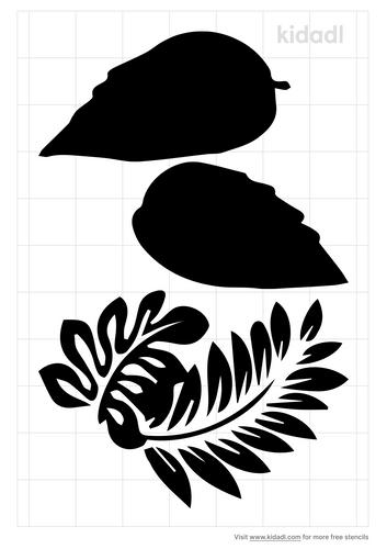 hibiscus-leaf-stencil