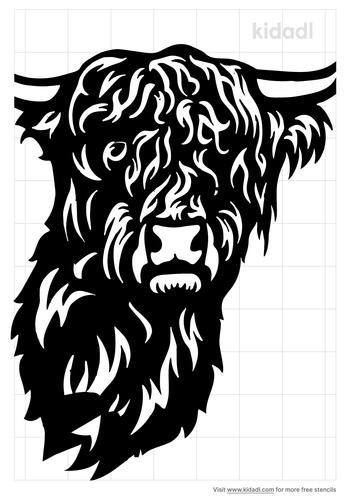 highland-cow-stencil