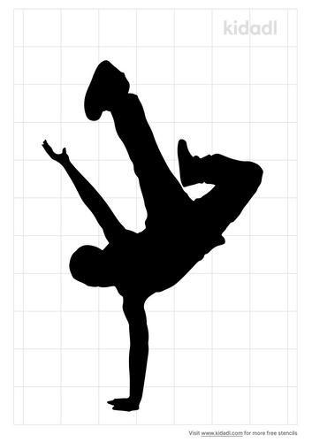 hip-hop-dance-stencil