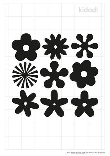 hippie-flower-stencil