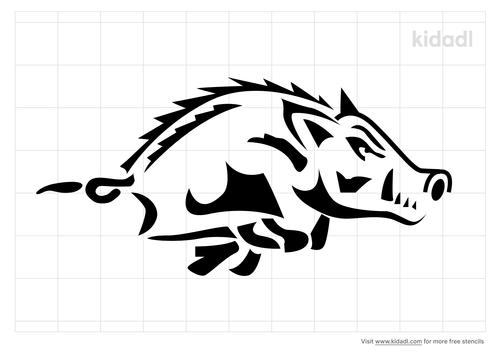 hog-stencil