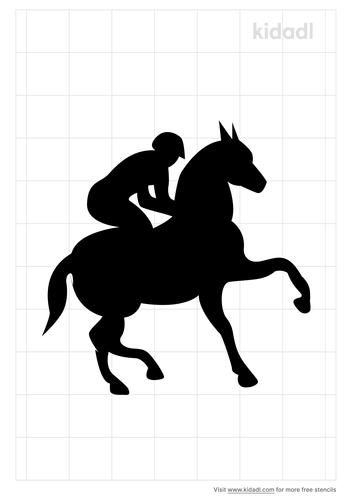 horse-and-jockey-stencil