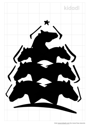horse-christmas-tree-stencil.png