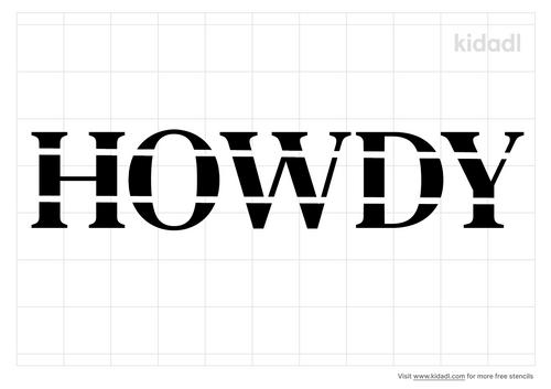 howdy-stencil
