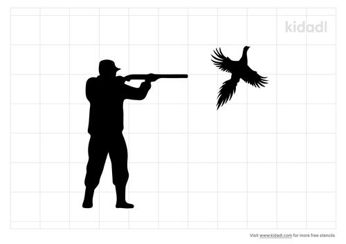 hunter-shooting-at-pheasant-stencil.png