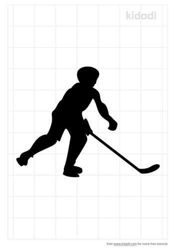 ice-hockey-stencil