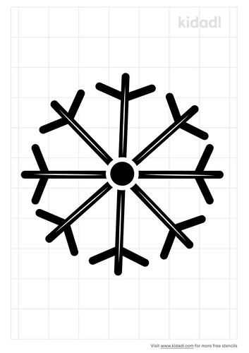 ice-symbol-stencil