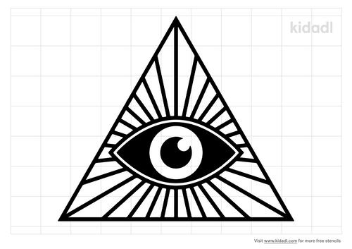 illuminati-stencil