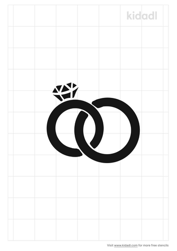 interlaced-wedding-ring-stencil