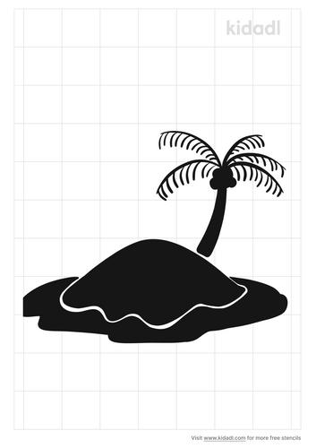 island-stencil