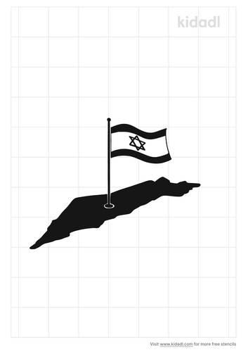 israel-stencil