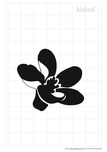 ivy-flower-stencil