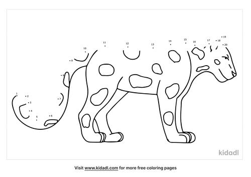 jaguar-dot-to-dot