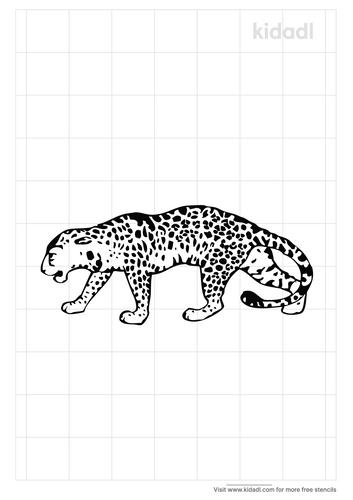 jaguar-stencil