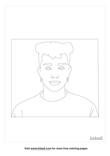 james-charles-coloring-page