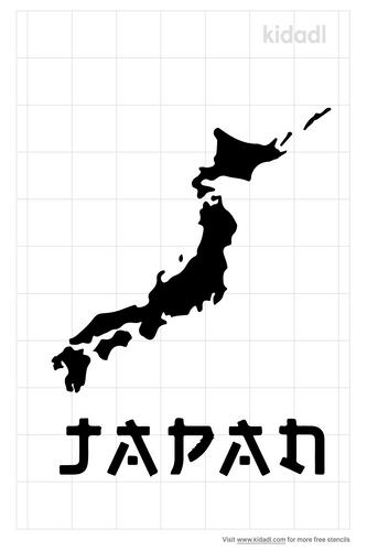 japan-map-stencils