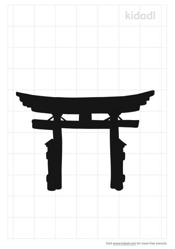 japanese-gate-stencil