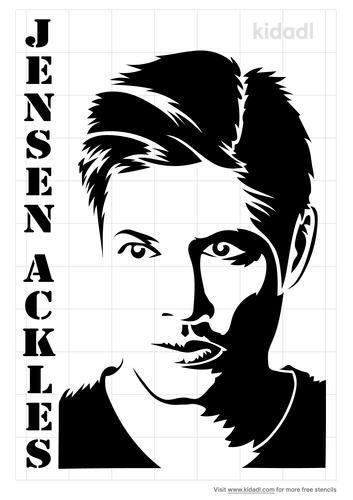 jensen-ackles-stencil