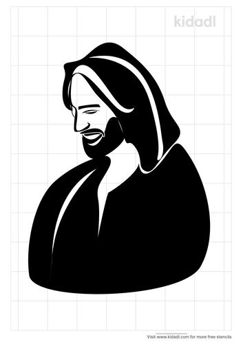 jesus-laughing-stencil